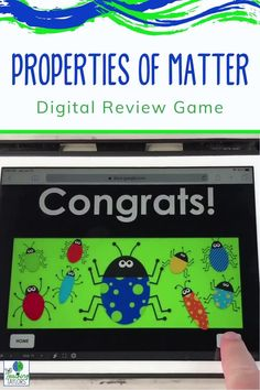 Your students will be super engaged with this Physical Properties of Matter Review Game. Easy activity for kids to use on any device with internet. Use during science class as stations after teaching, taking notes or doing an investigation. Includes 18 physical properties of matter review questions in different formats to keep 4th grade and 5th grade students engaged! Matter Activities, Sorting Activities, Science Activities, Activities For Kids, Elementary Science, Elementary Teacher, Upper Elementary, Physical Properties Of Matter, Digital Review