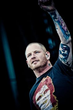 Corey Taylor, that ackward moment when I have that exact same shirt