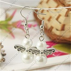 Lovely Angel Earrings