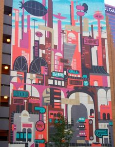 Nice mural by Brian Holderman! View the full mural here: murallocator.org/... Upload your own murals: murallocator.org/... #wallpaper #murals #wall_murals #custom_wallpaper #photography #art #fineart #murallocator #mural #photo