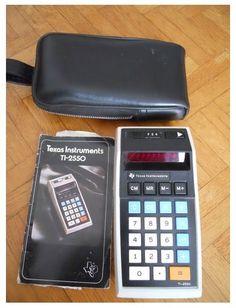 Calculatrice Texas Instrument Ti-2550