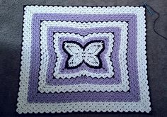 """In this butterfly pattern - 3 pattern/projects for one price using """"Butterfly in Lilacs"""" pattern. It is an Instant download and includes both a PDF and a Microsoft Word file. Pictures are included as progression references."""