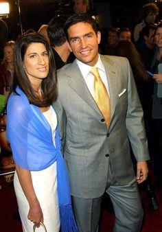 Jim and Kerri Caviezel married July 20, 1996. (3 children)