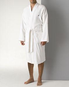 Polo Ralph Lauren Men's Kimono Cotton Velour Robe | Bloomingdales's