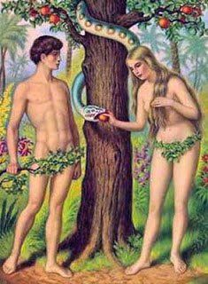 Adam Is Logic Left Eve Is Imagination Right And The Serpent Is
