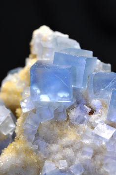 Fluorite -  Blanchard Mine, Bingham, Socorro County, New Mexico   mw