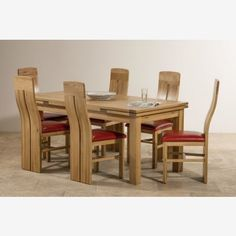 Baku Light Natural Solid Mango Dining Set   5ft 6  Table with 6 Wooden  Chairs   Dining sets  Dining table lighting and LightsBaku Light Natural Solid Mango Dining Set   5ft 6  Table with 6  . Dining Table And 6 Red Leather Chairs. Home Design Ideas
