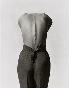 "Exhibition: 'Herb Ritts' at the Museum of Fine Arts, Boston. ""Another artist lost too soon to HIV/AIDS."" http://artblart.com/2015/11/02/exhibition-herb-ritts-at-the-museum-of-fine-arts-boston/ Photo: Herb Ritts (American, 1952-2002) 'Pants (Back View), Los Angeles' 1988"