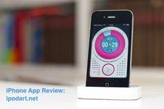 아이폰 아이패드 앱, 그래픽과 기능이 조화된 스톱워치와 타이머 Minu Timer :: iPhone Art의 아이폰 아이패드 App 리뷰