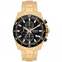 [WALMOB]Relógio Masculino Analógico Orient Mgssc010-p1kx - Dourado - R$556,90 Em Até 7x