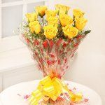 Bunch of 12 Yellow Roses 💐 . This bunch consists of 12 Yellow roses. These sunlit roses are a symbol of friendship and care. Perfect way to show your friends how special they are to you. 🚚 Delivery in Jaipur. For details Call or DM. Yellow Rose Bouquet, Yellow Roses, Online Flower Delivery, Same Day Flower Delivery, Home Flowers, Send Flowers, Chocolate Cream Cake, Buy Flowers Online, Heart Shaped Chocolate