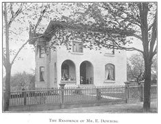 Downing Residence, Goderich, Ontario c.1897 #Goderich #RediscoverGoderich #VintageGoderich