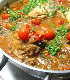 I had chicken paprikash for the first time at the co-op the other night.  It was delicious!  Hope this one is as yummy!