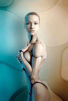 Les femmes robots par MichaelO