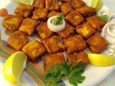 Tasty Appetite: Paneer Pakora ( Cottage Cheese Fritters )