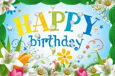 Happy Birthday Wishes Animated For Daughter Happy Birthday Rose, Glitter Birthday, Happy Birthday Cards, Happy Birthdays, Birthday Wishes For Brother, Birthday Gifts For Girlfriend, Husband Birthday, Birthday Blessings, Birthday Wishes Quotes