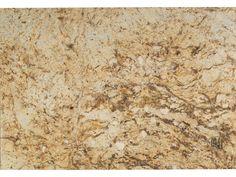 Kitchen countertop: Golden Riviera Granite Slab