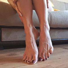 Well... feet, there is a mystery about them and the toe ring adds loads of sexiness too.