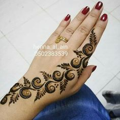 ideas for tattoo simple men mehndi designs Finger Henna Designs, Mehndi Designs Book, Indian Mehndi Designs, Modern Mehndi Designs, Mehndi Design Pictures, Mehndi Designs For Girls, Mehndi Designs For Fingers, Beautiful Henna Designs, Latest Arabic Mehndi Designs