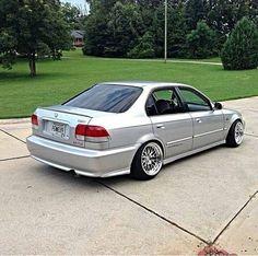 99 Jdm Civic Sedan