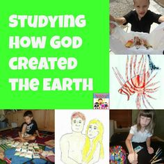 Creation story activities #kidmin #sundayschool #biblestudy