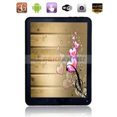 This stylish tablet PC featuring 8 inch 5-point capacitive multi-touch screen entertains you through your fingertips anywhere and anytime.