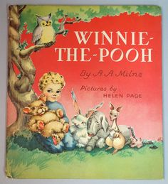 Winnie-The-Pooh, pictures by Helen Page, 1926. E.P. Dutton