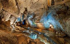 Interior Cueva El Soplao