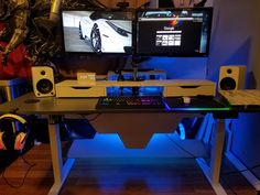 One of the most badass desk setups I have ever seen.