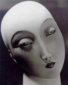 Mannequin, Amsterdam, ca 1932 by Erwin Blumenfel