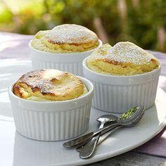 Diabetes recipe - Easy Lemon Souffles | Master forks