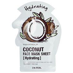 Tony Moly - I'm Real - Coconut Face Mask Sheet - Hydrating (2 pack) #sephora