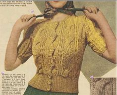 Ravelry: Youthful Cardigan pattern by Australian Women's Weekly-free pattern