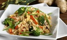 The Daniel Fast: Stir Fry Vegetables with Brown Rice