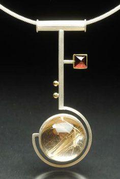 26795c86ae26 Yumi Ueno Art Jewelry   Metal   Jewelry Gallery   Pendant  pendantnecklace  Accesorios Collares