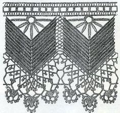 vintage crochet lace pattern