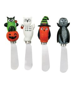 Take a look at this All Owl's Eve Spreader Set by Boston Warehouse on #zulily today!