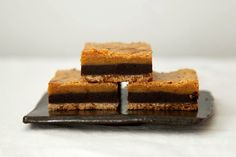 3 Layered Bar Cookies with Chocolate, Butterscotch, Graham Crackers on Etsy, $9.00
