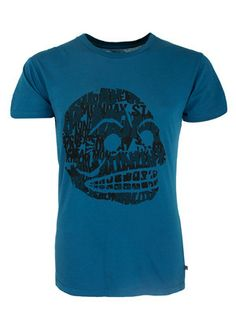 new concept 6cdb6 b0102 Cheap Monday Skull of Text Tor Tee. Slim fit cotton T-shirt with round