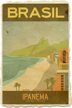 <3 Brasil ~ Ipanema ~ Rio de Janeiro #ViventuraPinYourWayToSouthAmerica