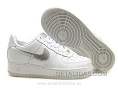 official photos 5ca7a e9b8a Nike Air Force 1 Low Hombre Blanco Silver (Nike Air 1 Force) Discount,  Price   70.09 - Adidas Shoes,Adidas Nmd,Superstar,Originals