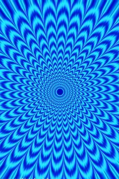 Blue Vortex Optical Illusion - www. - Blue Vortex Optical Illusion – www. Image Illusion, Illusion Pictures, Illusion Art, Eye Illusions, Cool Optical Illusions, Op Art, Optical Illusion Wallpaper, Illusion Kunst, Illusion Tricks