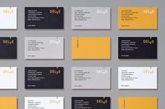 Moniker SF – Visual identity for production company Delve