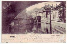 Praha, pražské Benátky, cca 1900