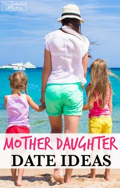 10 Fun Mother Daughter Date Ideas - pin it and use it as a checklist, one each week for 10 weeks! (ad)
