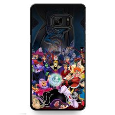 All Villains Disney TATUM-636 Samsung Phonecase Cover For Samsung Galaxy Note 7