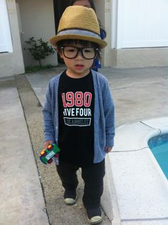 not for a baby shower...but i'm SO going to dress my future nephew like this...