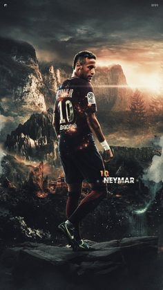 Neymar the best Football Players Images, Best Football Players, Football Art, Football Pictures, Soccer Players, Cr7 Messi, Neymar Psg, Messi And Ronaldo, Juventus Fc