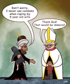 Religion. Ha!