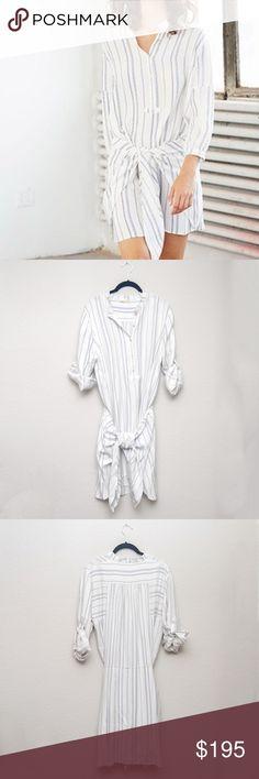 ff9873f4dfff26 Ulla Johnson White  amp  Blue  Corsica  Dress Sz 8 Ulla Johnson white and